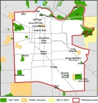 Central Area from city website; click for larger image