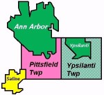 The limits of the expanded authority. Pittsfield retains its POSA, Saline does not participate