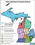 The 10 state prosperity regions in Governor Snyder's initiative.