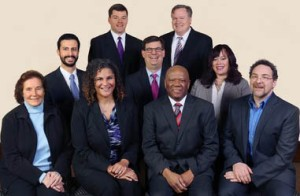 Washtenaw County Board of Commissioners, 2014-2016. Conan Smith at far right with mouth slightly open.